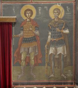 'Αγιος Φανούριος, Αγ.Άνδρέας ο στρατηλάτης Μέτωπο Ν. κεραίας