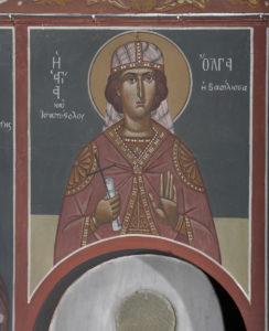 Αγ.και ισαπόστολος Όλγα η βασίλισσα, 1ο διάζωμα, ΒΑ κλίτος