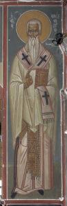 Αγ. Αλέξανδρος, πατριάρχης Κωνσταντινουπόλεως, 1ο διάζωμα, ΒΑ κλίτος
