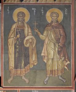 Αγ. Αμφιανός και Αγ. Γουρίας, 3ο διάζωμα, Μέτωπο Ν. κεραίας