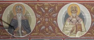 Αγ. Δαυίδ ο εν Θεσσαλονίκη και Αγ. Γριγόριος ο μεγάλης Αρμενίας, ΒΑ κλίτος