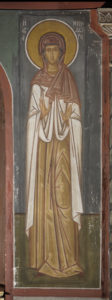 Αγ. Μηνοδώρα, Β. τοίχος Γυναικωνίτη