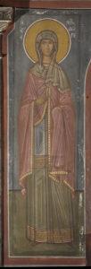 Αγ. Μητροδώρα, Β. τοίχος Γυναικωνίτη