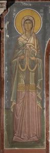 Αγ. Πίστις, Ν. τοίχος Γυναικωνίτη