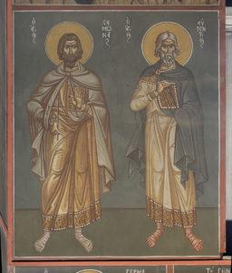 Αγ. Σαμωνάς και Αγ. Αυξέντιος, 3ο διάζωμα, Μέτωπο Ν. κεραίας