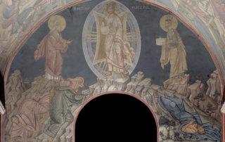 Η Μεταμόρφωσις του Κυρίου, Τύμπανο Β. Κεραίας