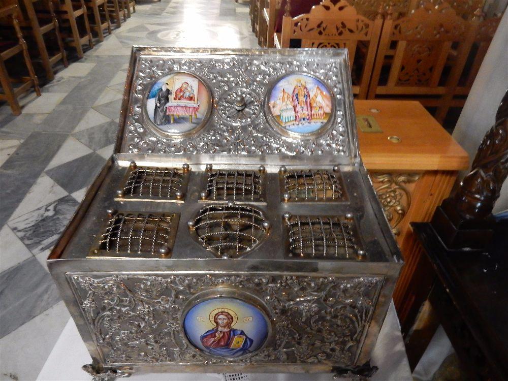 Λειψανοθήκη Αγίου Λουκά Συμφερουπόλεως