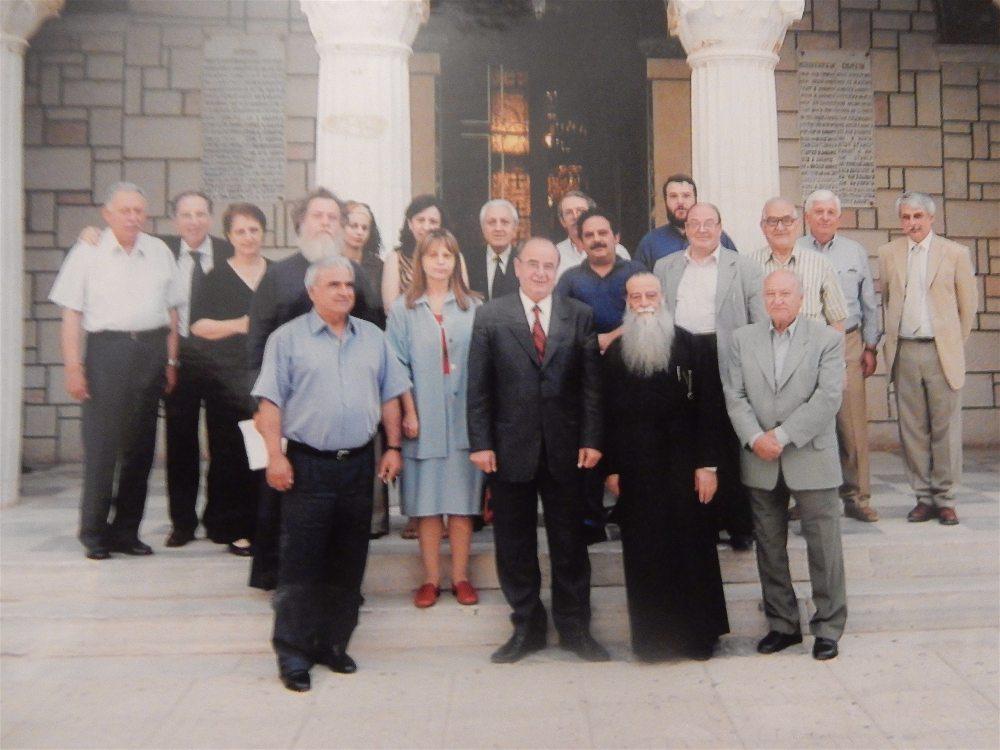 Η επιτροπή για την εκατονταετηρίδα του Ναού, 2005