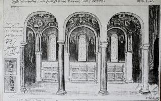 Φωτοαντίγραφο προσχεδίου Φ. Κόντογλου.