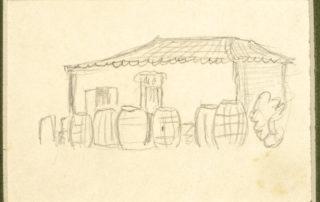 Το βαρελοποιείο του Ντουλκέρη (;)[χ.χ]. 7.4 x 10.5 εκ.