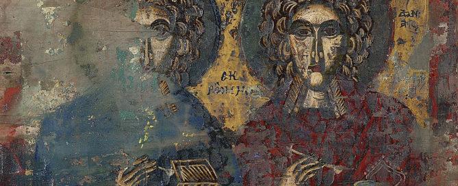 Δυο Άγιοι (εκ Ρώμης), φορητή εικόνα