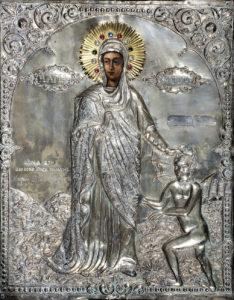 Η Αγία Μαρίνα, φορητή εικόνα