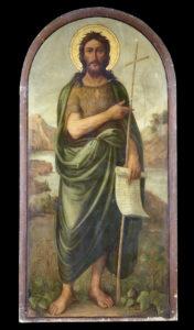 Άγιος Ιωάννης ο Πρόδρομος, εικόνα τέμπλου, Αύγουστος Πικαρέλλης, 1907.