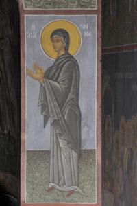 Αγία Άννα, μέτωπο κόγχης του ιερού, Φώτης Κόντογλου 1940.