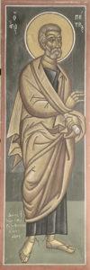 Απόστολος Πέτρος, ΒΑ πεσσος του ιερού, Φώτης Κόντογλου, 1946.