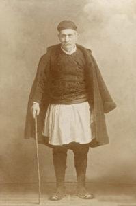Νικόλαος Πρίφτης (Κολιοπέτσος). 1839-1922. Μέλος της πρώτης επιτροπής του Ι.Ν. Ζωοδόχου Πηγής και μέγας δωρητής.