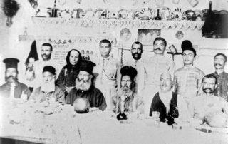 40ήμερο μνημόσυνο Σωτήρη Χατζησωτήρη, προπάππους Γ.Δ. Χατζησωτηρίου (1815-1907). Από το αρχείο Γ.Δ. Χατζησωτηρίου
