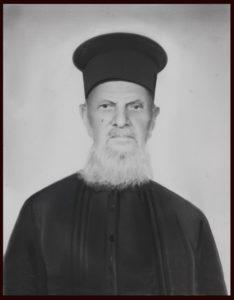 Πατήρ Νικόλαος Ιωάννου, Πρωτοπρεσβύτερος, 1890-1970.